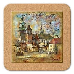 Podstawka ceramiczna Kraków Katedra 11x11