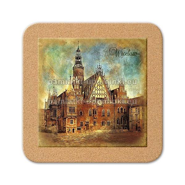 Podstawka ceramiczna Wrocław Ratusz 11x11