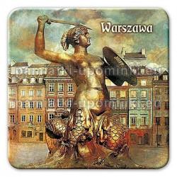 Magnes kwadrat Warszawa Syrenka