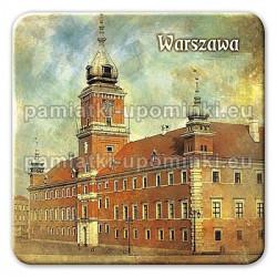 Magnes kwadrat Warszawa Zamek Królewski
