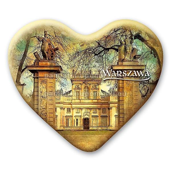Magnes serce Pałac w Wilanowie