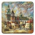 Magnes kwadrat Kraków Katedra na Wawelu