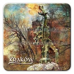 Magnes kwadrat Kraków Smok Wawelski