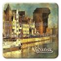 Magnes kwadrat Gdańsk Długie Pobrzeże