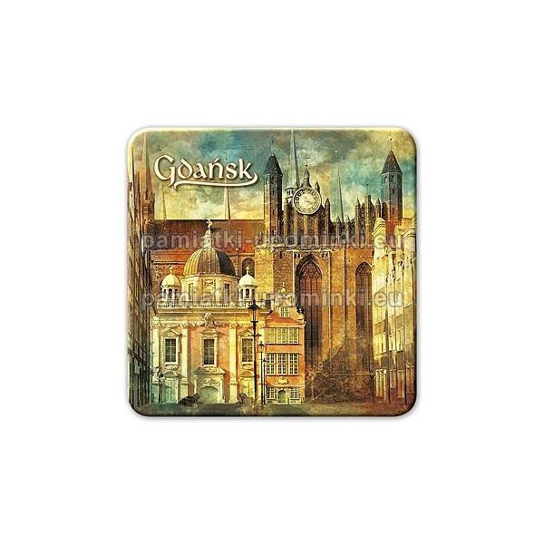 Magnes kwadrat Gdańsk Kaplica Królewska