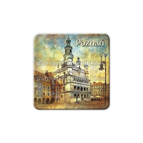 Magnes kwadrat Poznań Ratusz