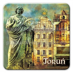 Magnes kwadrat Toruń Kopernik Gwiazda