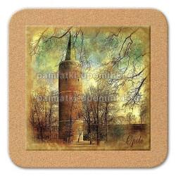 Podstawka ceramiczna Opole Wieża Piastowska 11x11