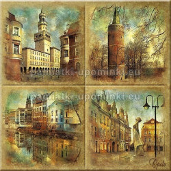 Podstawka ceramiczna Opole 15x15