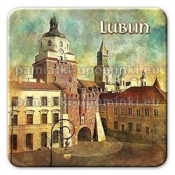 Magnes kwadrat Lublin Brama Krakowska