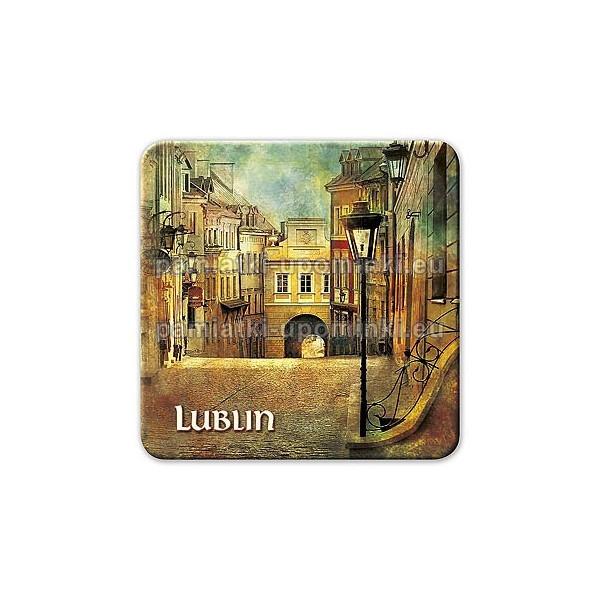 Magnes kwadrat Lublin Grodzka