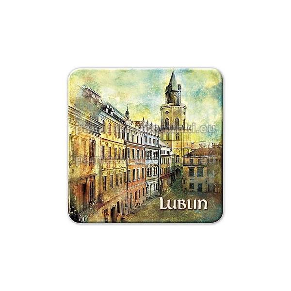 Magnes kwadrat Lublin Wieża Trynitarska