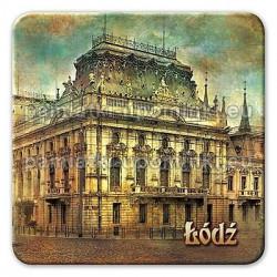 Magnes kwadrat Łódź Pałac Poznańskiego
