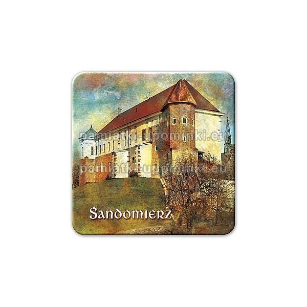 Magnes Sandomierz Zamek kwadrat