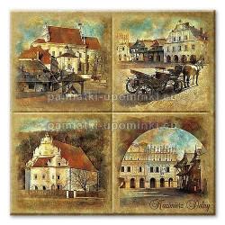 Podstawka ceramiczna Kazimierz Rynek 11x11