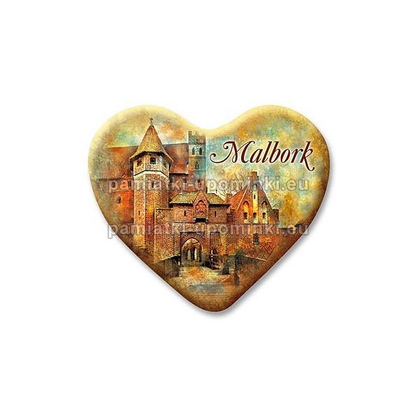 Magnes Malbork serce Most