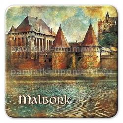 Magnes Malbork Zamek Fosa kwadrat