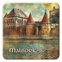Magnes Malbork Dwie Wieże kwadrat