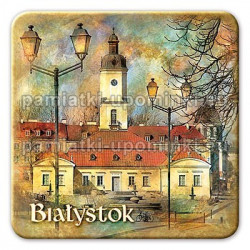 Magnes Białystok kwadrat Ratusz