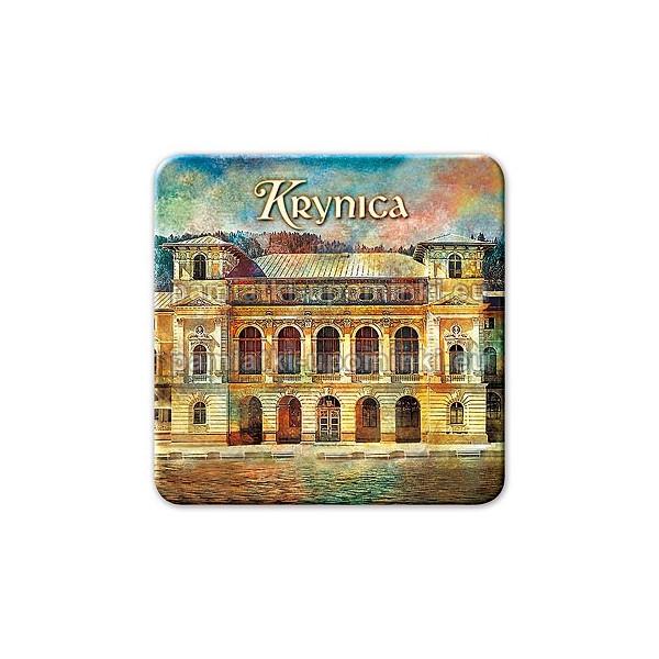 Magnes Krynica kwadrat Stary Dom Zdrojowy