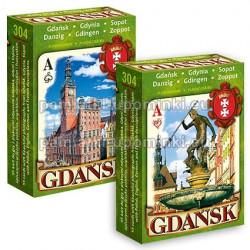 Karty do gry Gdańsk, Gdynia, Sopot