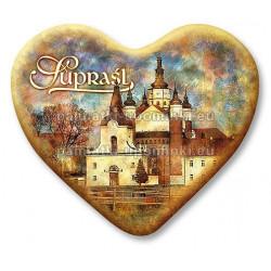 Magnes Supraśl serce Cerkiew