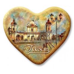 Magnes Tykocin serce Kościół