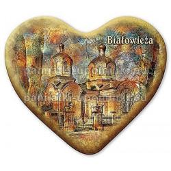Magnes Białowieża serce Cerkiew