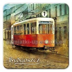 Magnes kwadrat Bydgoszcz Tramwaj