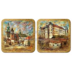 Podstawki korkowe Wawel Zamek