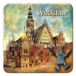 Magnes kwadrat Wrocław Ratusz