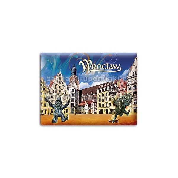 Magnes Wrocław - kamieniczki Jaś i Małgosia