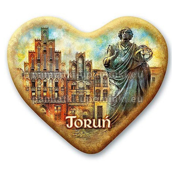 Magnes Toruń serce Dom Kopernika