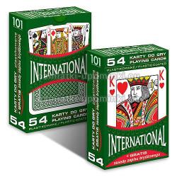 Karty Poker zielone