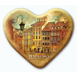 Magnes Warszawa serce - Rynek Starego Miasta