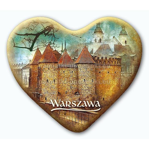 Magnes serce Warszawa Barbakan