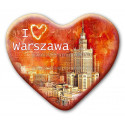 Magnes Warszawa serce - I love