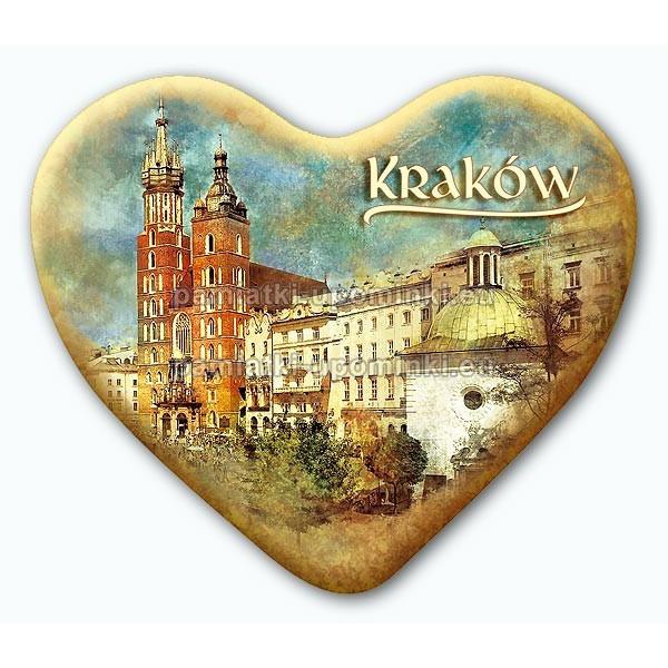 Magnes serce Kraków Kościół Mariacki i Wojciecha