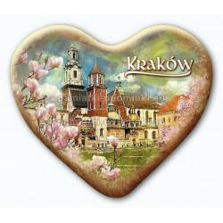 Magnes Kraków serce - Wawel Magnolie