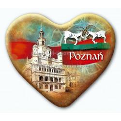 Magnes serce Poznań Ratusz Koziołki