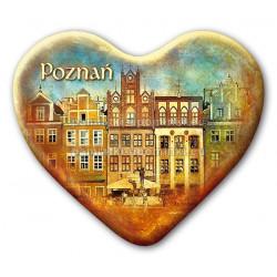 Magnes Poznań serce - Kamienice