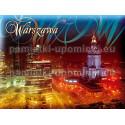 Magnes Warszawa - Pałac Kultury w nocy