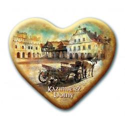 Magnes Kazimierz serce - Kamienica Gdańska
