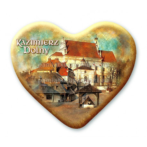 Magnes Kazimierz serce - Rynek
