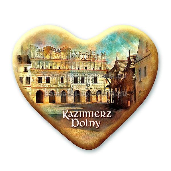 Magnes Kazimierz serce - Kamienica pod św. Krzysztofem