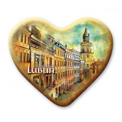 Magnes Lublin serce - Wieża Trynitarska