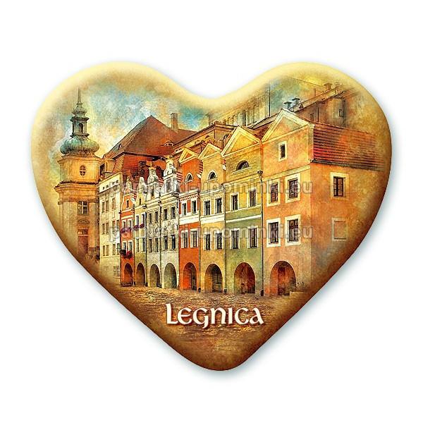 Magnes Legnica serce - Kramy Śledziowe