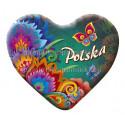 Magnes folkowy Polska zielony