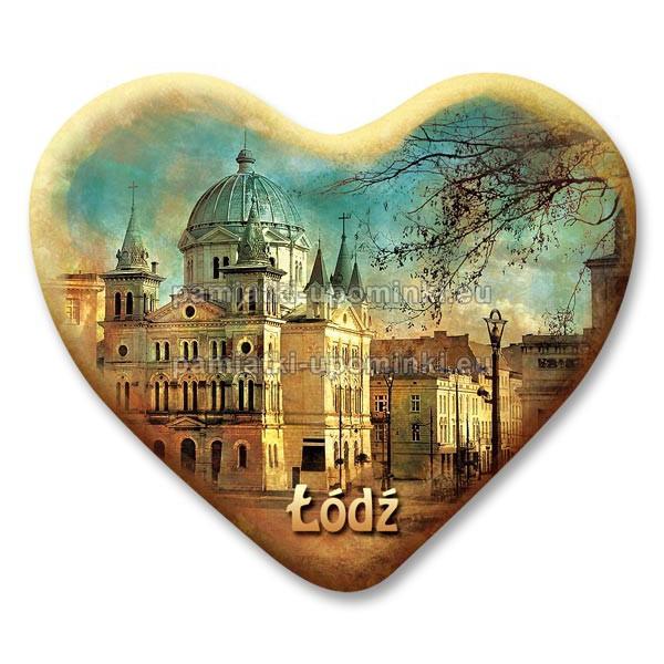 Magnes Łódź serce Plac Wolności