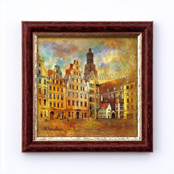 Obrazek Wrocław Kamieniczki Jaś i Małgosia